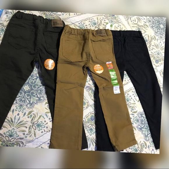 33cef49fb4e36b Wrangler Bottoms | Boys Pants Set Of Three Flex Fabric Pants | Poshmark